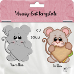 Mousey Eat Template