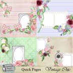 Vintage Chic Quick Pages