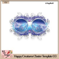 Happy Creatures 03 - Layered Template - CU