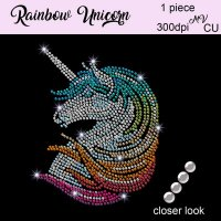 Rainbow Unicorn Bling