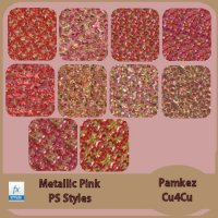 Metallic Pink PS Styles