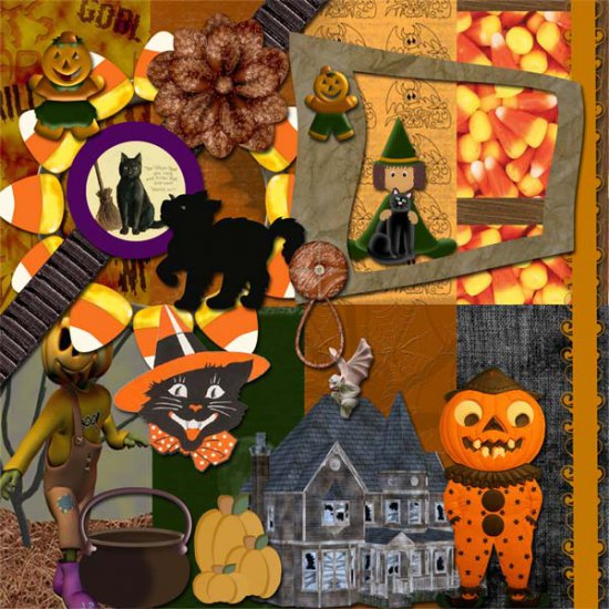 Autumn Essence Halloween Addon FS Kit