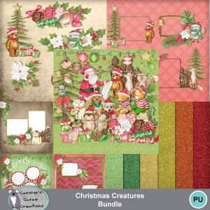 Christmas Creatures Bundle