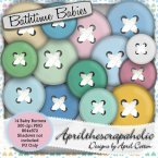 Bathtime Babies - Baby Buttons