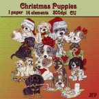 Christmas Puppies Mini Kit