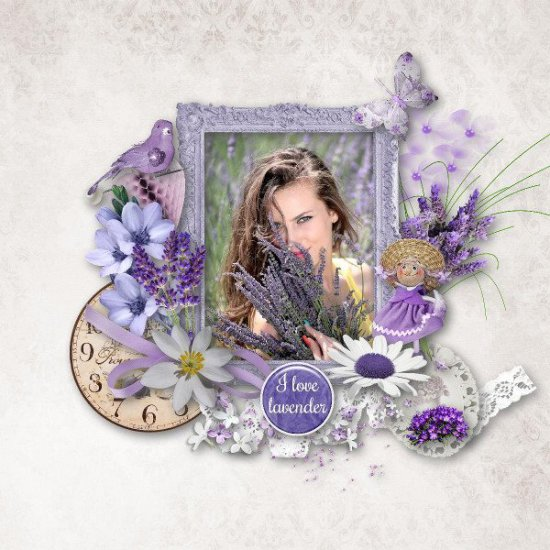Beautiful Lavender - Click Image to Close