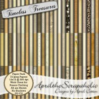 Timeless Treasures - Paper Pack - CUPU