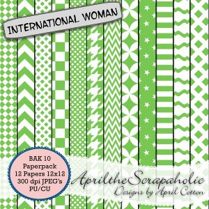 ATS International Woman - BAK 10 - Paperpack