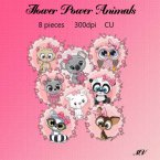 Flower Power Animals element pack
