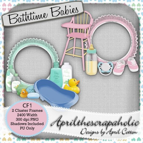 Bathtime Babies - Click Image to Close