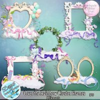 OVER THE RAINBOW CLUSTER FRAMES - FULL SIZE
