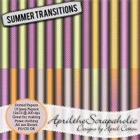 Summer Transitions - Dotted Paper Pack - CU/PU