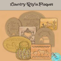 Country Plaques Element pack
