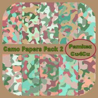 Camo Patterned Papers Set 2