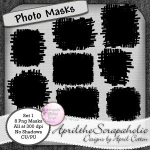 Photo Masks - Set 1