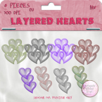 Layered Hearts Element Pack