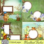 Woodland Frolics Quick Pages