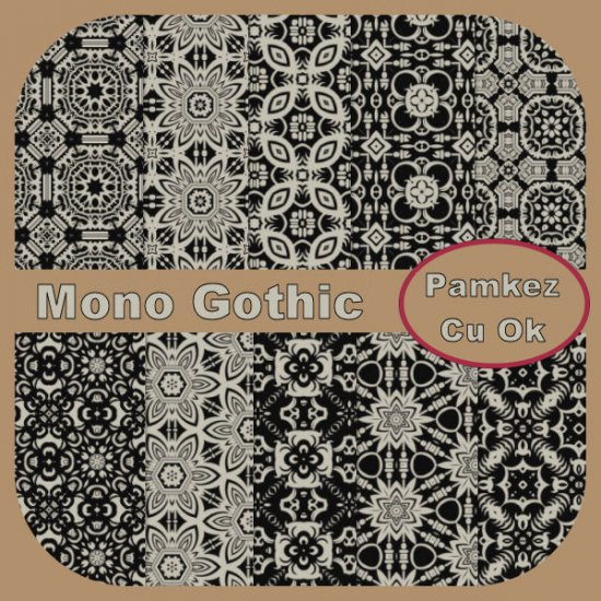 Mono Gothic Papers - Click Image to Close
