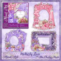Motherly Love Cluster Frame Pack