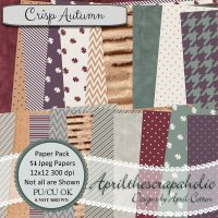 Crisp Autumn - Paper Pack