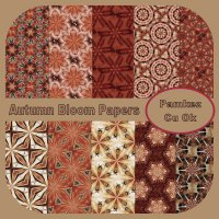 Autumn Bloom Patterned Papers