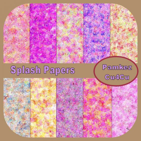 Splash Papers - Click Image to Close