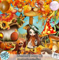 WONDERFALL SCRAP KIT - FULL SIZE