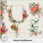 Yuletide embellishments mix