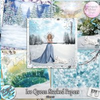 ICE QUEEN STACKED PAPERS - FULL SIZE