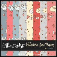 Valentine Love Papers