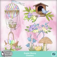 Easter Bunny Clusters