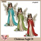 Christmas Angel - CU4CU
