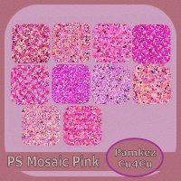 PS Mosaic Pink Styles