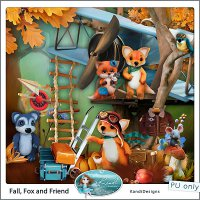 FALL, FOX AND FRIEND Full Kit