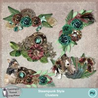 Steampunk Style Clusters
