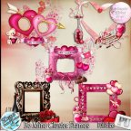 BE MINE CLUSTER FRAMES - FULL SIZE