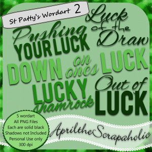 ATS St. Patrick's Day - Wordart 2