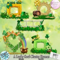 A LUCKY SOUL CLUSTER FRAMES - TAGGER SIZE