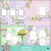 Easter Bunny Quick Pages