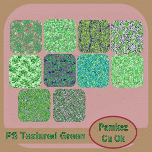 Textured Green PS Styles