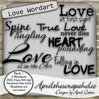 ATS Love Wordart