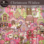 Christmas Wishes Page Kit by AWS (FS/PU)