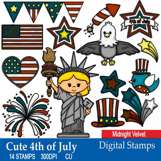 Cute 4th Of July - Click Image to Close